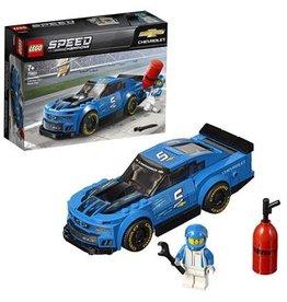 Lego Speed Champions Chevrolet Camaro Zl1 Racewagen - Speed Champions