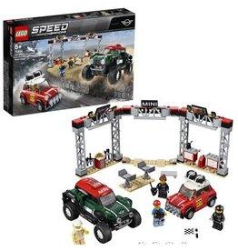 Lego Speed Champions 1967 Mini Cooper S Rally En 2018 Mini John Cooper Works Buggy - Speed Champions