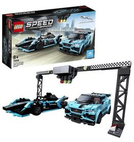 Lego Speed Champions Formula E Panasonic Jaguar Racing Gen2 Car & Jaguar I-Pace Etrophy - Speed Champions