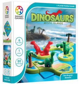 SmartGames DinosaursMysterious Islands