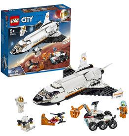 Lego City Lego City  Mars Onderzoeksshuttle -  Space Mars Research Shuttle