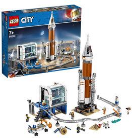 Lego City Lego City Ruimteraket En Vluchtleiding - Deep Space Rocket And Launch