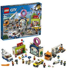 Lego City Lago City  Opening Donutwinkel - The Donutshop