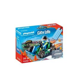 Playmobil City Life Playmobil Cadeauset Kart race