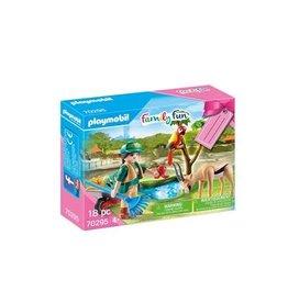 Playmobil Family Fun Playmobil Cadeauset Zoo
