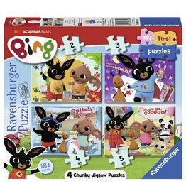 Bing Ravensburger Bing Bunny Mijn Eerste Puzzel 2*3*4*5 Stukjes