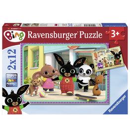 Bing Ravensburger Bing Bunny: Bings Avontuur 2X12 Stukjes