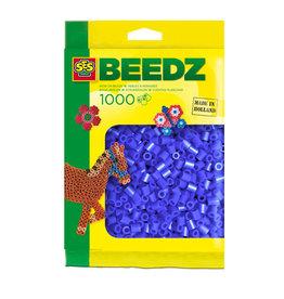 SES Creative SES Strijkkralen 1000 Donker Blauw 00724