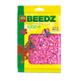 SES Creative SES Strijkkralen 1000 Roze  00708
