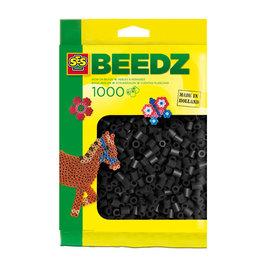 SES SES Strijkkralen 1000 Zwart 00706