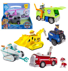 Paw Patrol Paw Ptrol  Deluxe vehicles  4 Ass