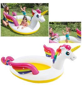 Intex Intex Rainbow Unicorn Pool 272x193x104