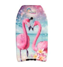 Summertime Bodyboard Flamingo