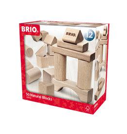 Brio Brio 30113 Blokken Naturel 50 stuks