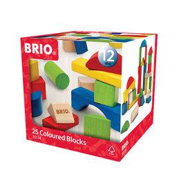 Brio Brio 30114 Gekleurde Blokken 25 Stuks