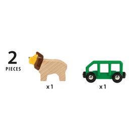 Brio Lion & Wagon