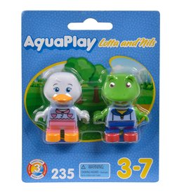 AquaPlay Aquaplay 235 - Speelfiguren Eend en Kikker