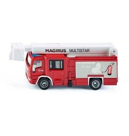 Siku Siku Super 1749 Magirus MultiStar TLF Brandweerwagen met Telescoopmast (1:87)