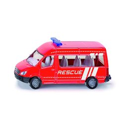 """Siku Siku Super 1082 Mercedes Benz Bus """"Rescue"""""""