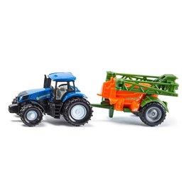 Siku Siku Super 1668 Tractor met Veldspuit