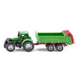 Siku Siku Super 1673 Tractor met Universele Strooier