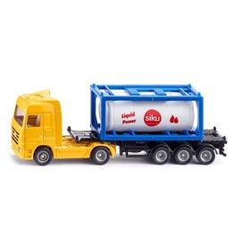 Siku Siku Super 1795 Vrachtwagen met Tankcontainer (1:87)