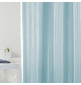 Wicotex Textiel Douchegordijn 180X200 Rigone Celeste blauw