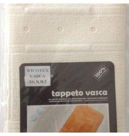 Wicotex Antislip Badmat 36X82 Tu Bianco/wit