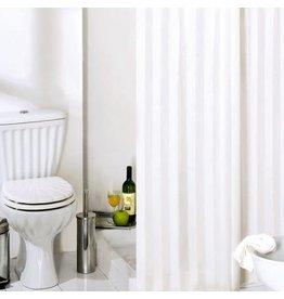 Wicotex Textiel Douchegordijn 180X200 Rigone Bianco