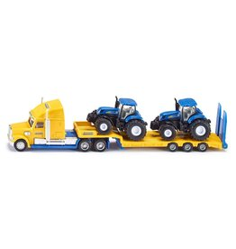 Siku Siku Farmer 1805 Vrachtwagen met New Holland Tractoren (1:87)