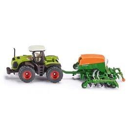 Siku Siku Farmer 1826 Traktor met Zaaimachine