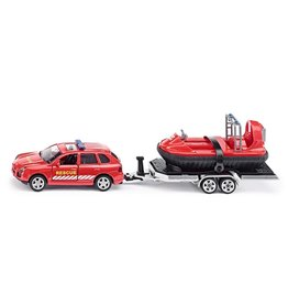 Siku Siku Super 2549 Rescue Auto met Aanhanger En Hovercraft (1:55)