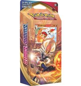 Pokemon Pokemon TCG Sword & Shield Theme Deck Cinderace