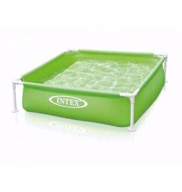 Intex Intex Mini Frame Pool Green 122X122X30cm