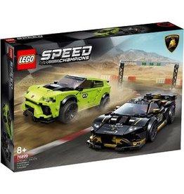 Lego Speed Champions Lego Speed Champions Lamborghini Urus ST-X & Lamborghini Huracán Super Trofeo EVO