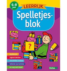 Deltas Leerrijk spelletjesblok (6-8 j.)