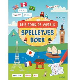 Deltas Reis rond de wereld spelletjesboek