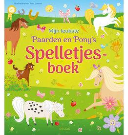 Deltas Mijn leukste Paarden en Pony's spelletjesboek