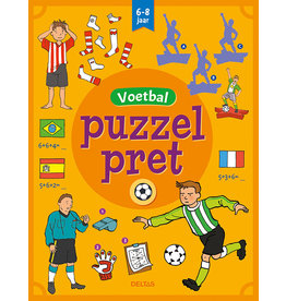 Deltas Puzzelpret - Voetbal ( 6-8 j.)