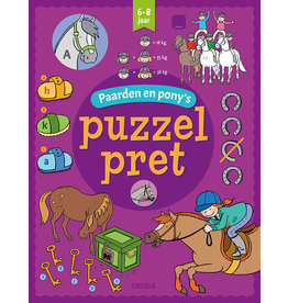 Deltas Puzzelpret - Paarden en pony's (6-8 j.)