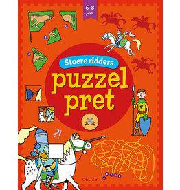 Deltas Puzzel pret - Stoere ridders ( 6-8 j.)
