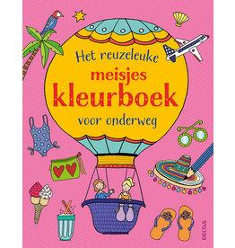 Deltas Het reuzeleuke meisjeskleurboek voor onderweg
