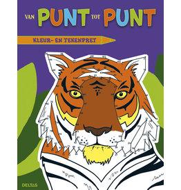 Uitgeverij Deltas Van Punt Tot Punt Kleur- En Tekenpret