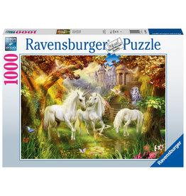 Ravensburger Ravensburger puzzel Eenhoorns in de herfst 1000stukjes