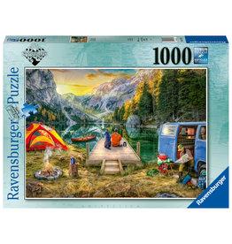 Ravensburger Ravensburger puzzel Rustige kampeerplek 1000stukjes (Calm Campsite)