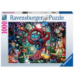 Ravensburger Ravensburger puzzel Iedereen is gek 1000stukjes Almost Everyone is Mad (Alice in Wonderland)