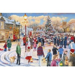 Gibsons Gibsons puzzel Christmas Chorus1000 stukjes