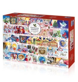 Gibsons Gibsons puzzle The Christmas Alphabet 1000 stukjes