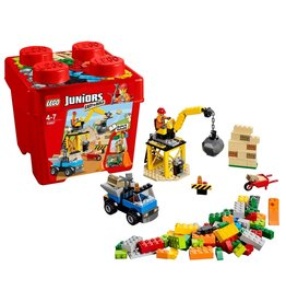 Lego Juniors Lego Juniors Bouwplaats Easy To Build (Ton) 10667