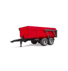 Bruder Bruder 02211 Kiepwagen Rood met Automatische Achterwand (1:16)